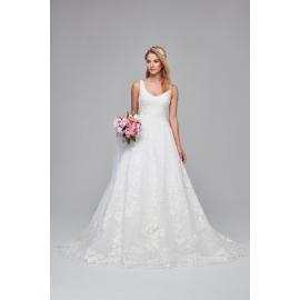 فستان الزهرة المطرزة للزفاف