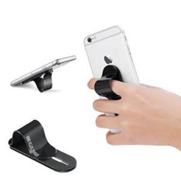 حمالة للهاتف (لجميع انواع الهواتف) باللون الأسود