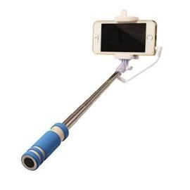 عصا سيلفي مناسبة لجميع الهواتف الذكية قابلة للطي تصبح بحجم اليد عند الطي