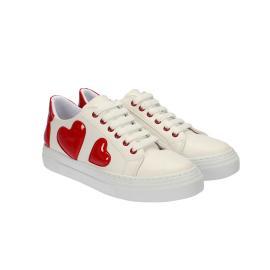 سنيكر - حذاء ابيض نسائي