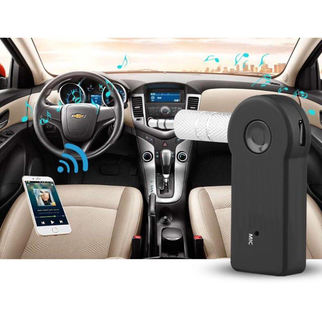 وصلة مستقبل  بلوتوث AUX لاجهزة الاندرويد والايوس