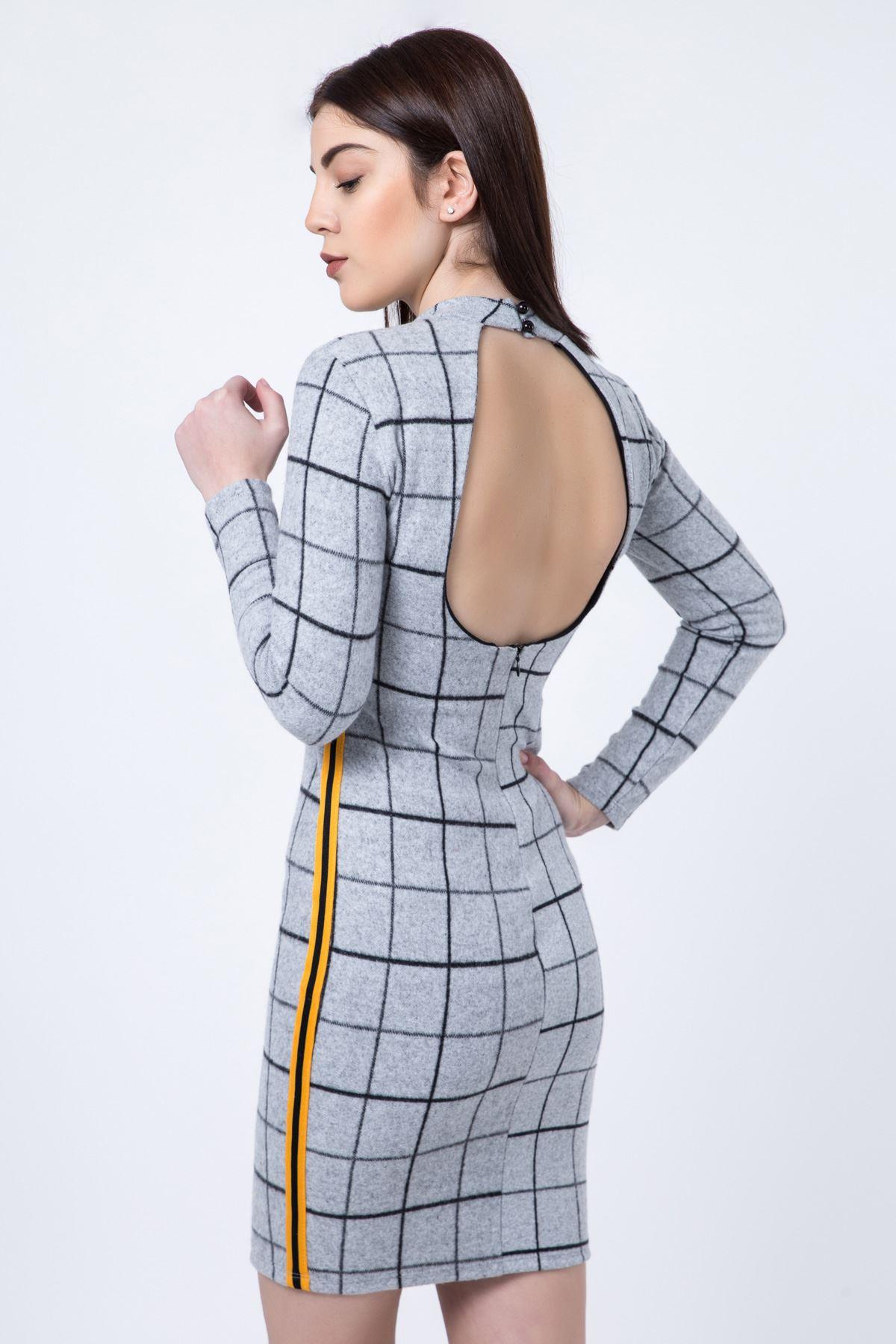 فستان نسائي موديل كارييه للمناسبات