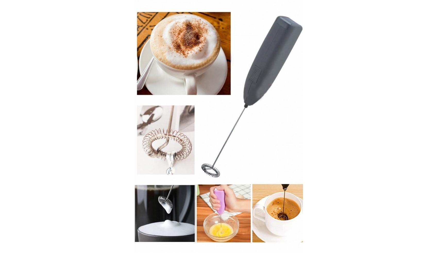 خلاط للقهوة والكابتشينو وكافة انواع المشروبات يعمل بالبطارية