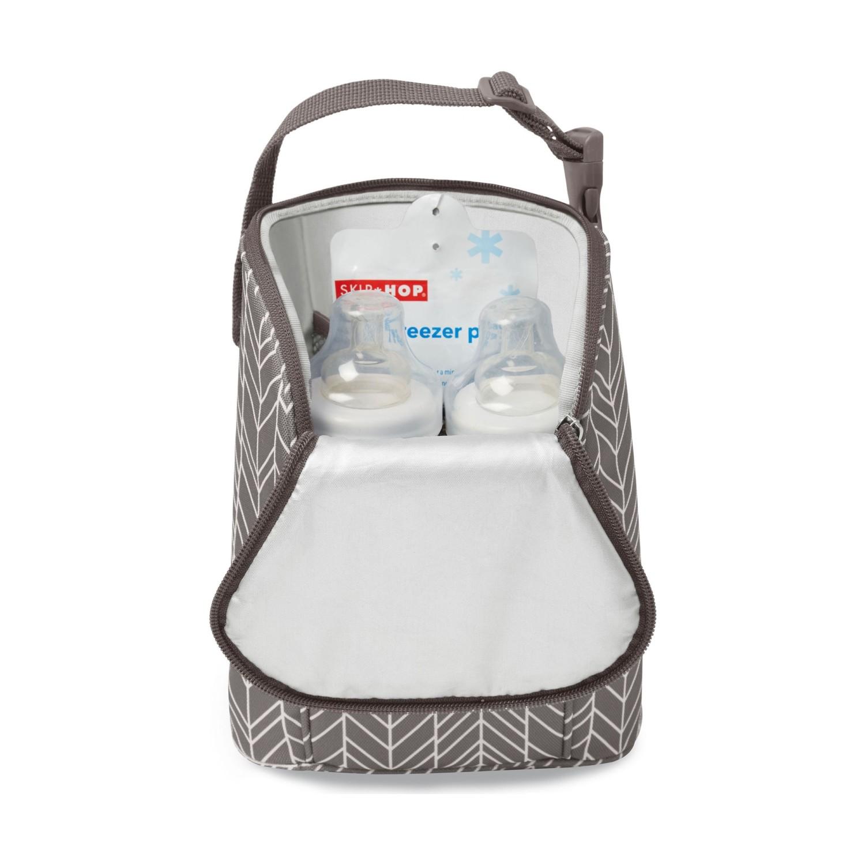جقيبة الام لحديثي الولادة سعه دبل زجاجة ماركة Skip Hop