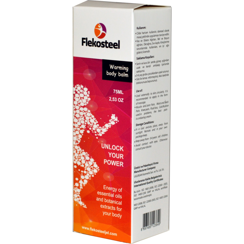 فليكوستيل 75 مل. كريم 1 قطعة لنظارة الجسم وشد الترهلات عند الرجال والنساء