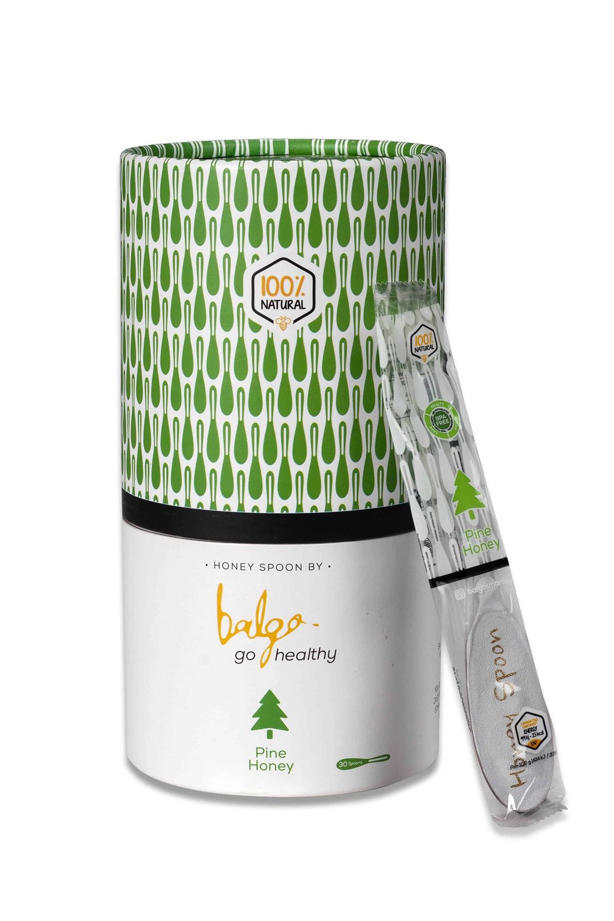 ملاعق عسل الصنوبر الطبيعية ماركة BAGLO عدد 30 ظرف مقوي وصحي من تركيا